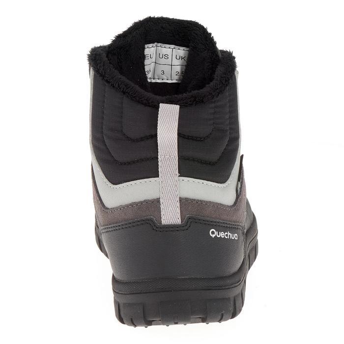 Chaussures de randonnée neige junior SH500 warm lacet mid - 1193001