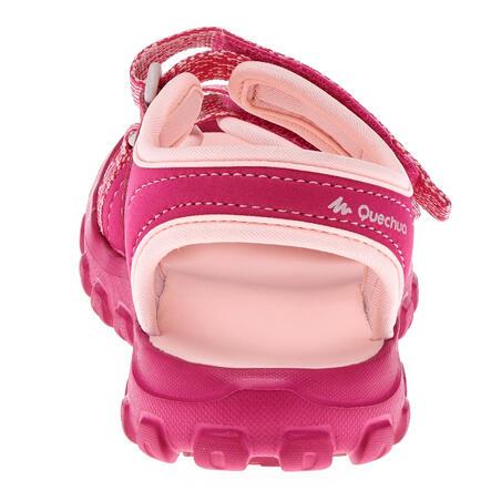 MH100 Kid's Hiking Sandals Kid Pink