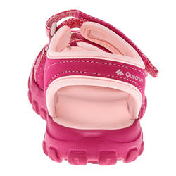 Sandales de randonnée enfant MH100 ENFANT roses