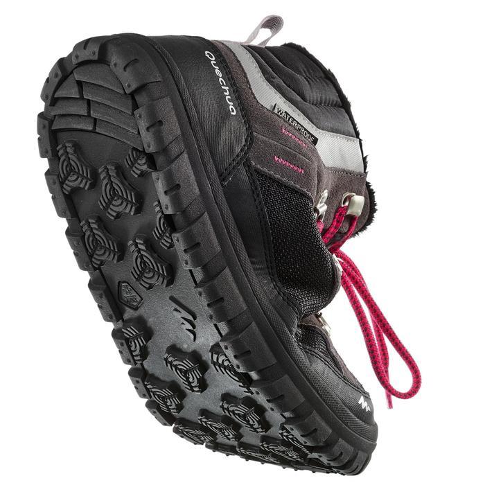 Chaussures de randonnée neige junior SH500 warm lacet mid - 1193011