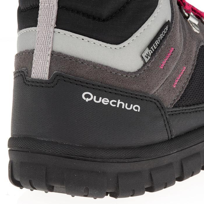 Chaussures de randonnée neige junior SH500 warm lacet mid - 1193024