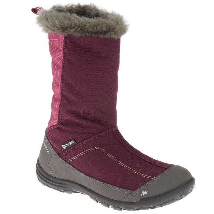 Bottes de randonnée neige Enfant SH900 chaudes et imperméables Light Blue - 1193029