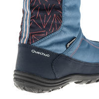 Bottes de randonnée neige junior SH500 chaudes bleu
