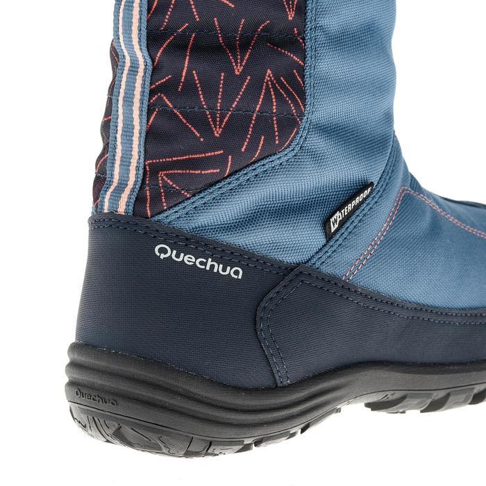 Bottes de randonnée neige Enfant SH900 chaudes et imperméables Light Blue - 1193030