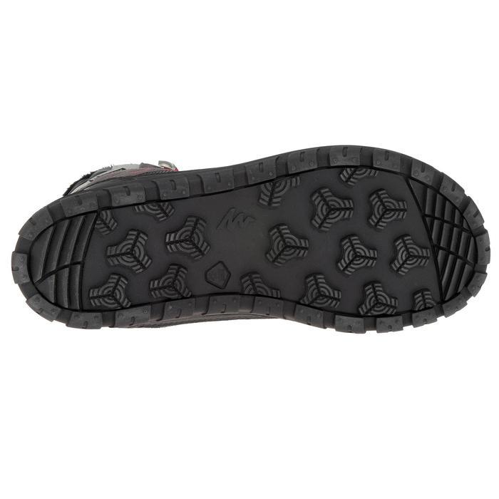 Chaussures de randonnée neige junior SH500 warm lacet mid - 1193045