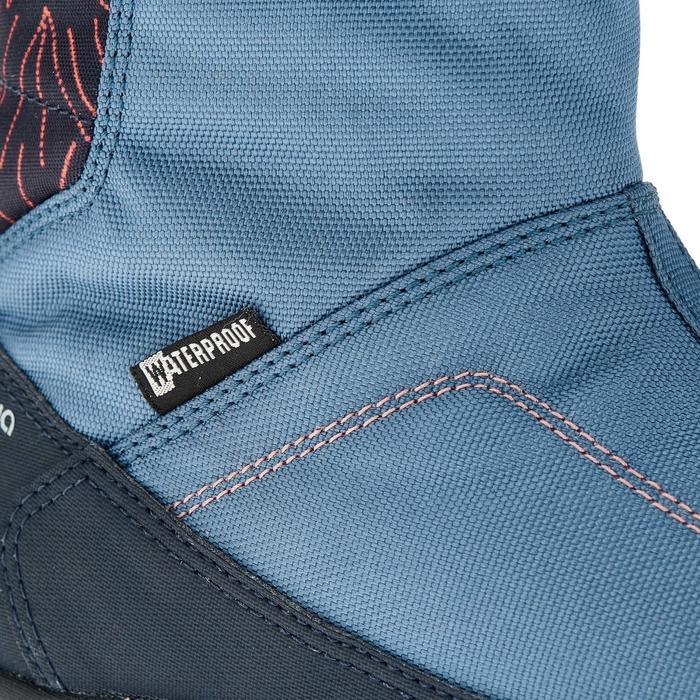 Bottes de randonnée neige junior SH500 warm bleu