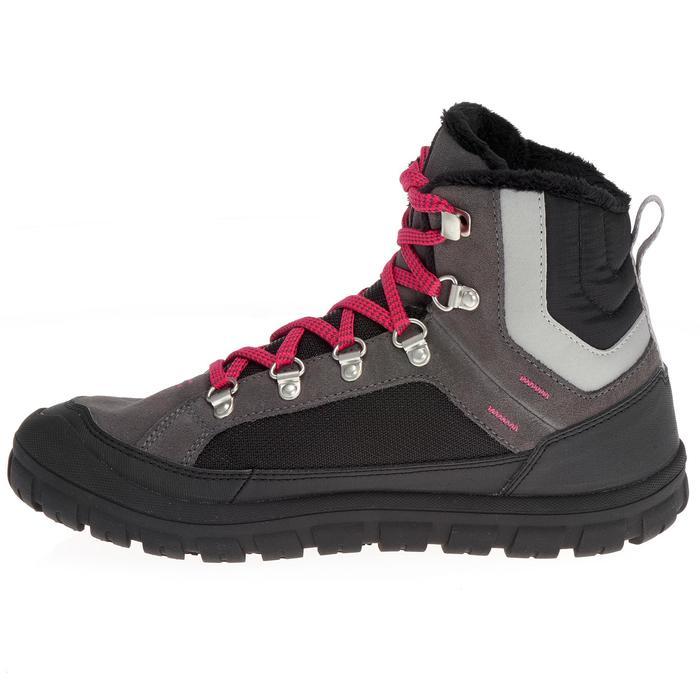 Chaussures de randonnée neige junior SH500 warm lacet mid - 1193052