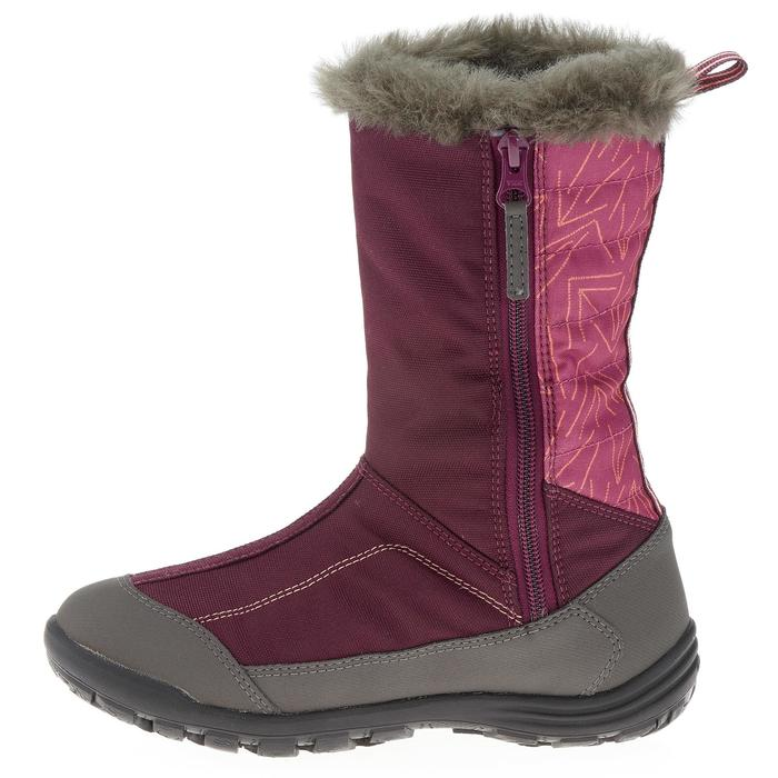 Botas de senderismo nieve júnior SH500 warm violeta