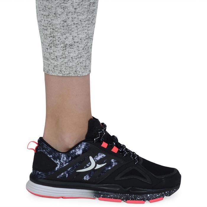 Legging 7/8 FIT+ 500 slim Gym & Pilates femme noir - 1193088