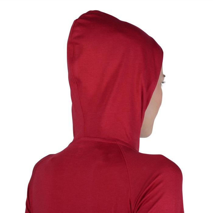 Veste capuche zippée Gym & Pilates femme - 1193221