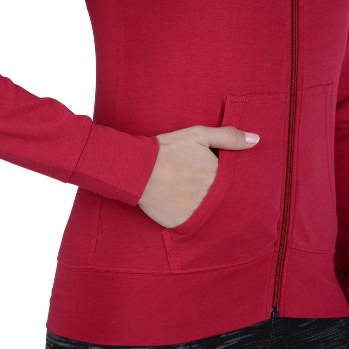 Veste capuche zippée Gym & Pilates femme - 1193229