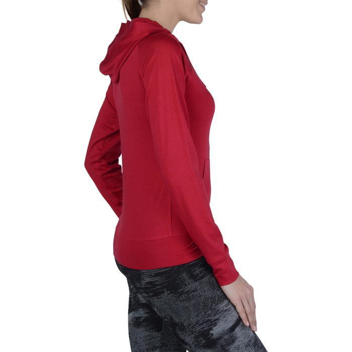 Veste capuche zippée Gym & Pilates femme - 1193241