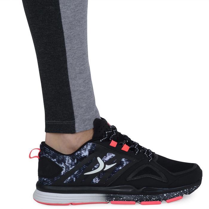 Legging Gym & Pilates femme gris moyen gris foncé - 1193345
