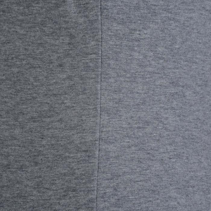 Dames T-shirt met korte mouwen voor gym en pilates gemêleerd - 1193348
