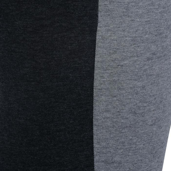 Legging Gym & Pilates femme gris moyen gris foncé - 1193624