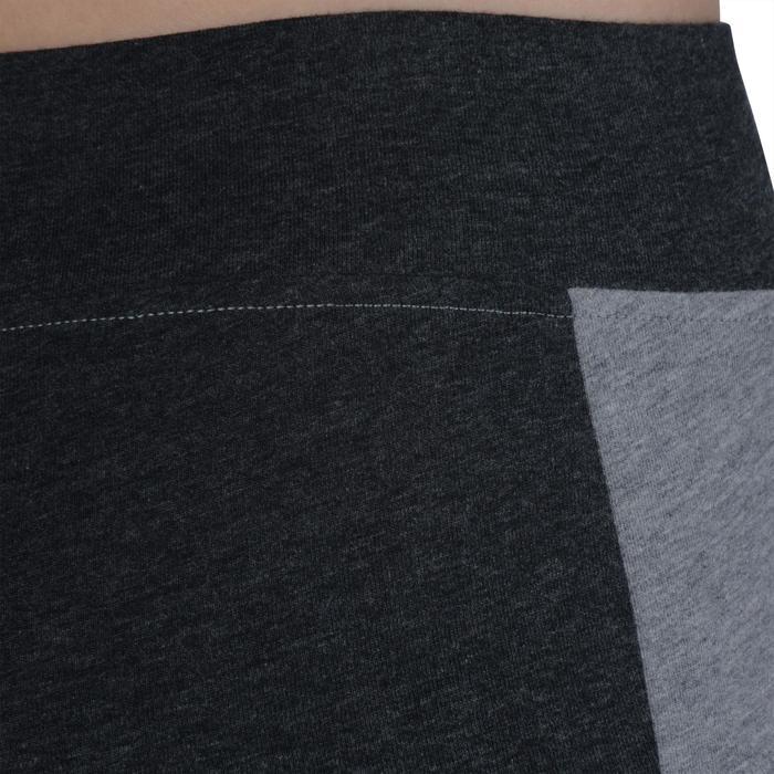 Legging Gym & Pilates femme gris moyen gris foncé - 1193658