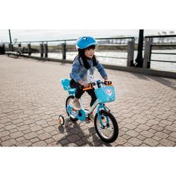 Kinderfahrrad 14 Zoll Arctic 100 weiß/blau