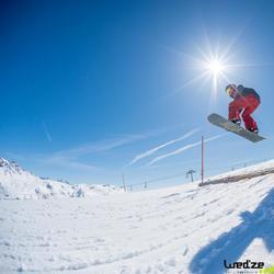 Antislip zelfklevende pads voor snowboards.