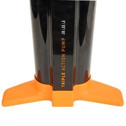 Stand-Up Paddle Triple Action High-Pressure Hand Pump 20 psi - Black Orange