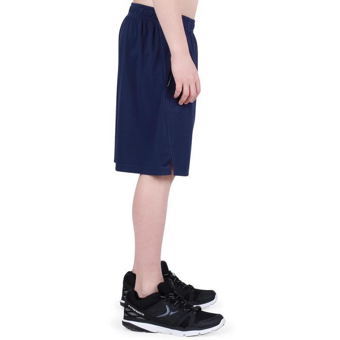 Gymshort S500 jongens marineblauw