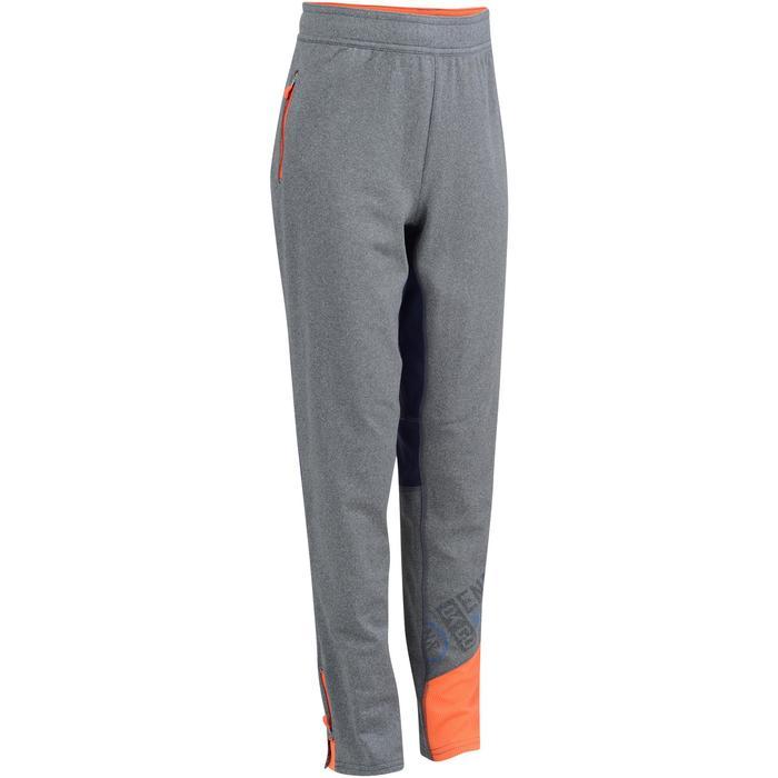 Pantalon 980 chaud slim Gym garçon poches imprimé marine - 1193770
