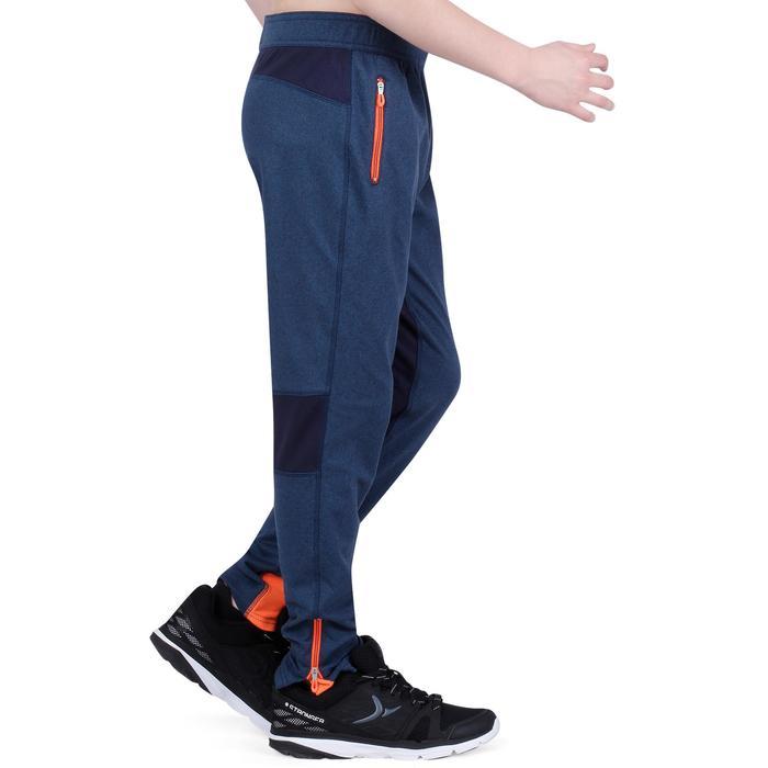 Pantalon 980 chaud slim Gym garçon poches imprimé marine - 1193782