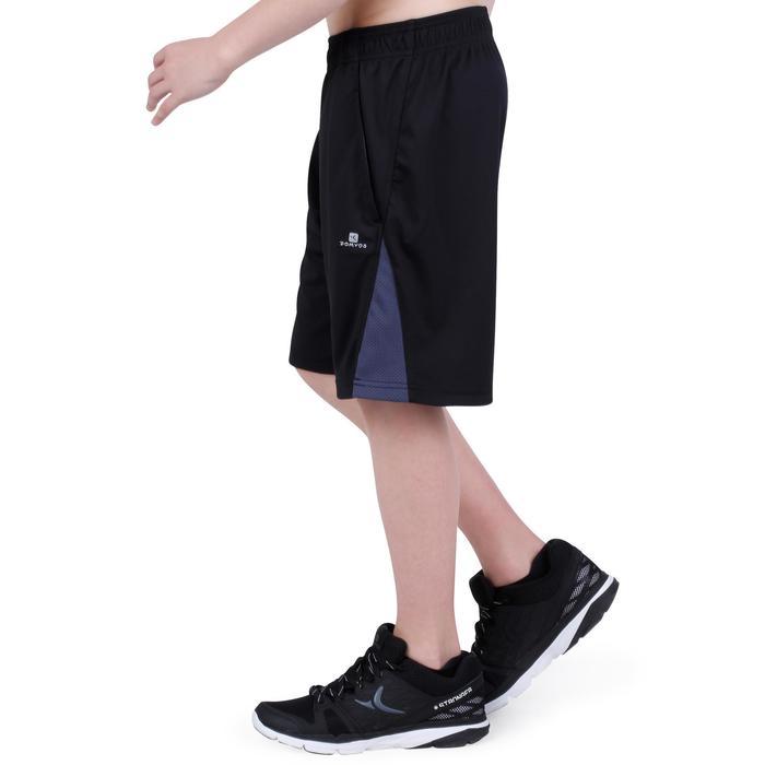 Sporthose kurz S500 Gym Kinder schwarz