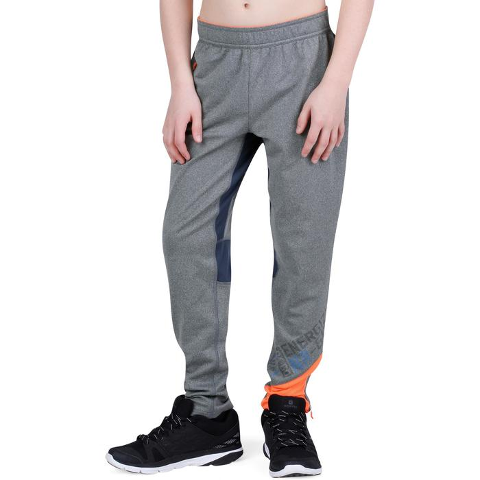Pantalon 980 chaud slim Gym garçon poches imprimé marine - 1193786