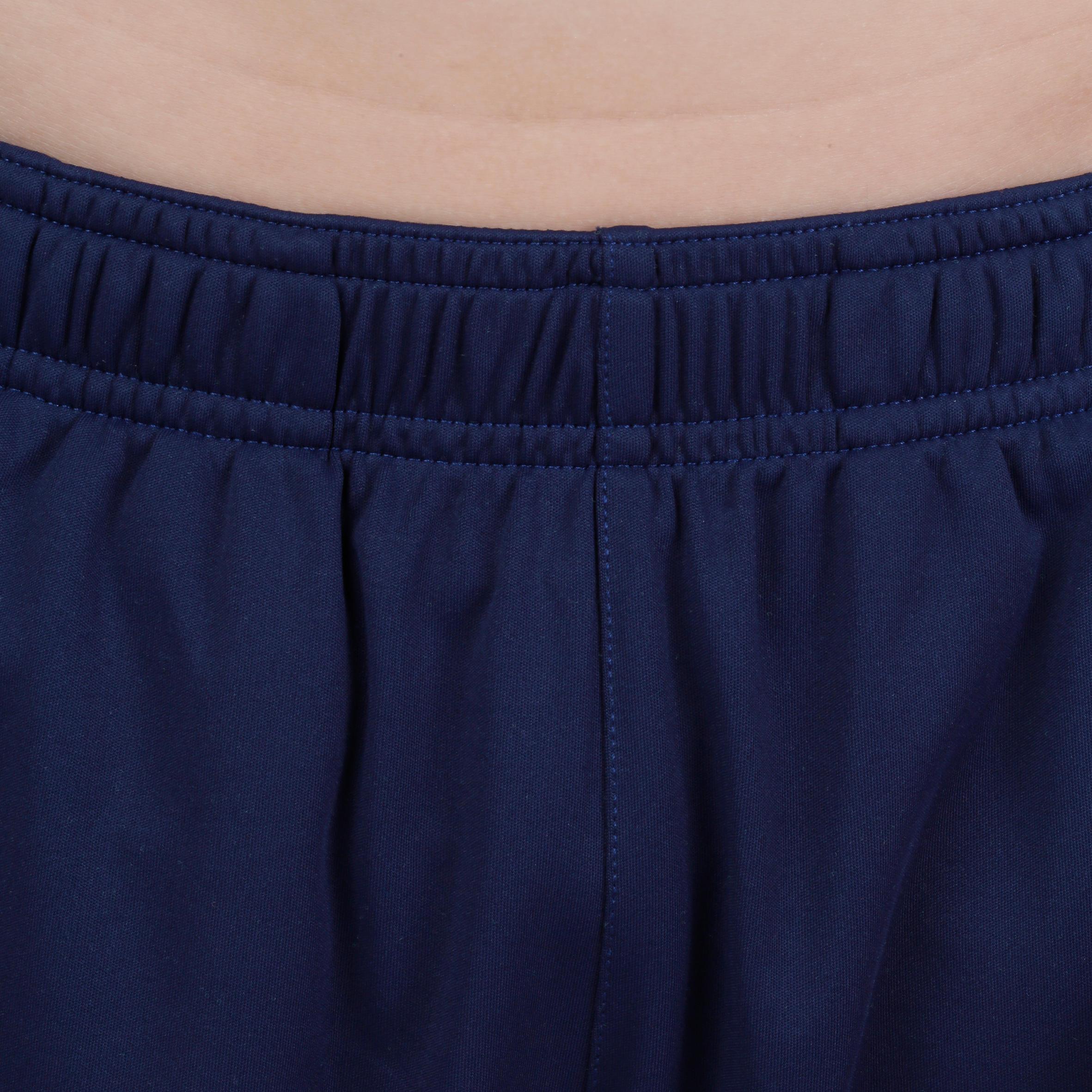 S500 Boys' Gym Shorts - Navy Blue