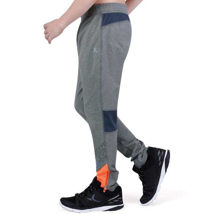 Pantalon 980 chaud slim Gym garçon poches imprimé marine - 1193822