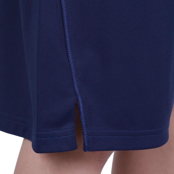 Pantalón Corto De Gimnasia Domyos S500 Transpirable Azul Marino
