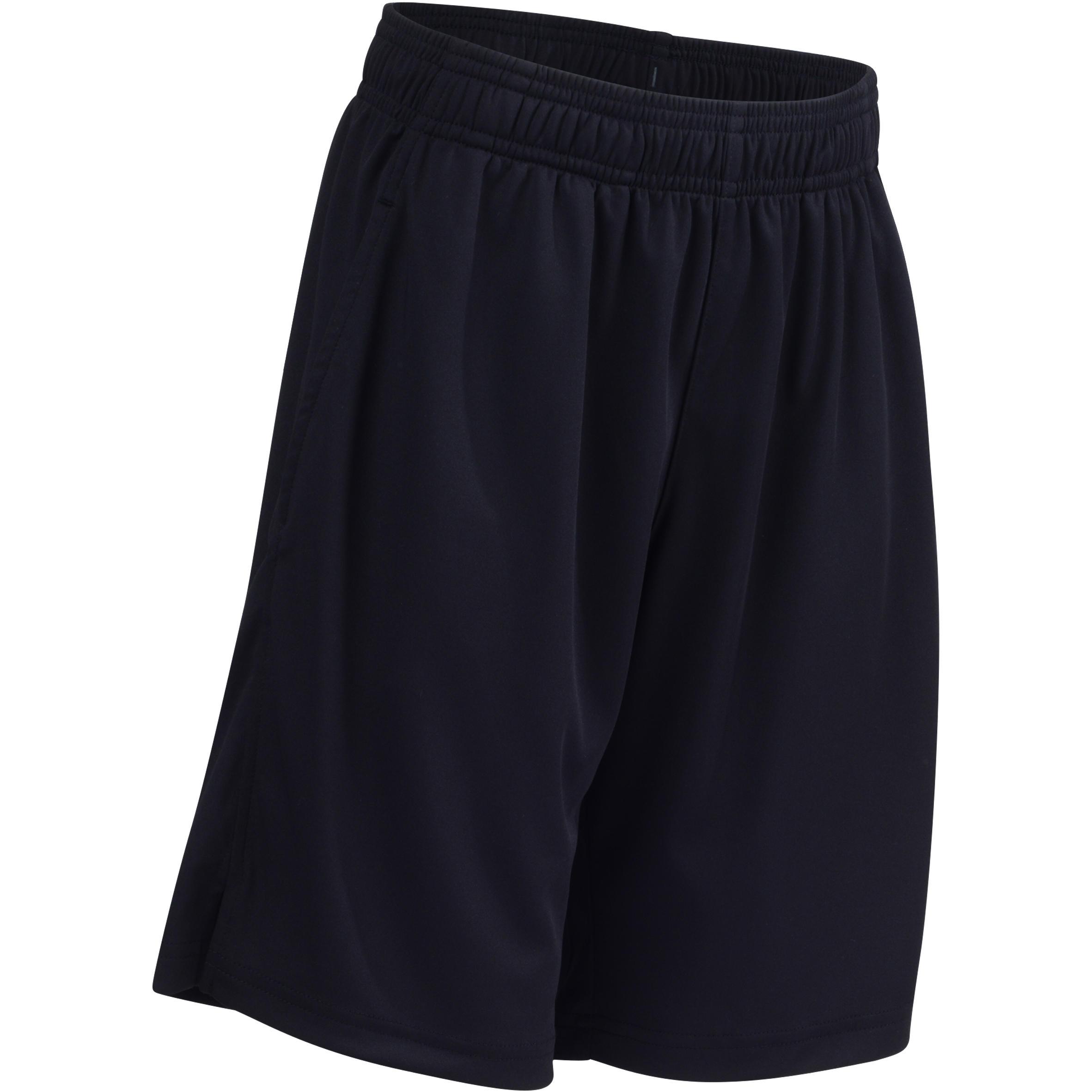 Short 560 Gym garçon poches noir