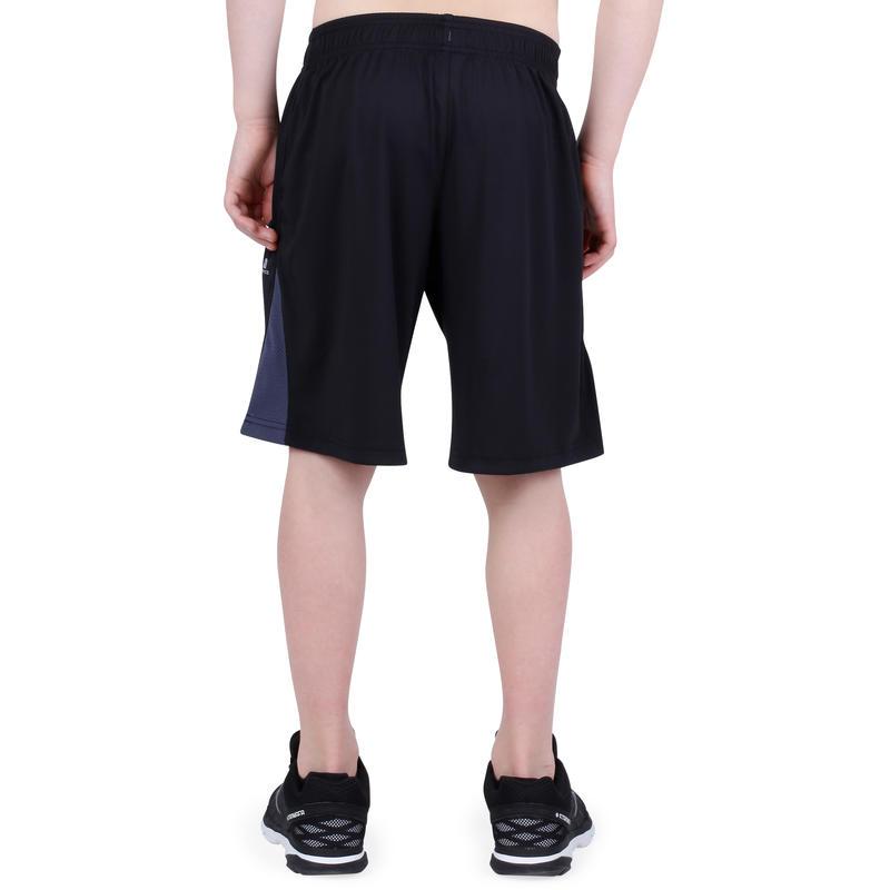 short 560 gym gar on poches noir decathlon martinique. Black Bedroom Furniture Sets. Home Design Ideas
