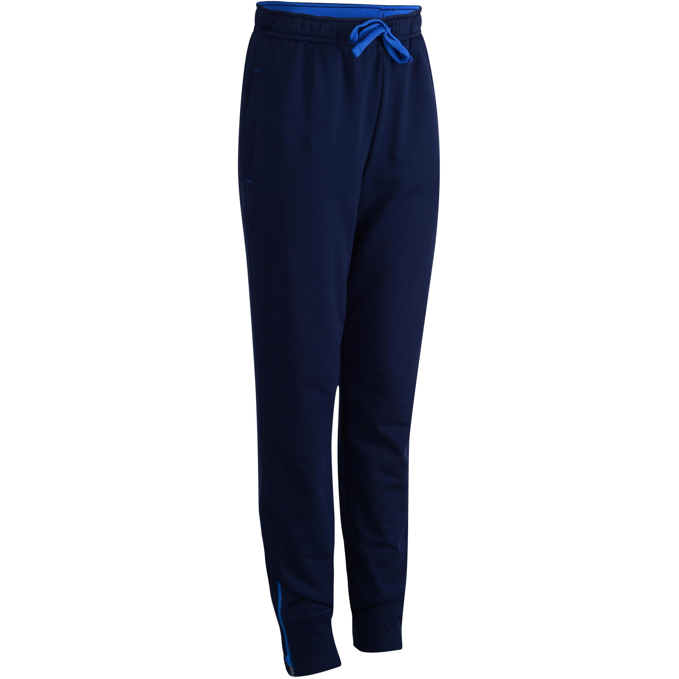 Pantalón 580 cálido slim gimnasia niño azul marino