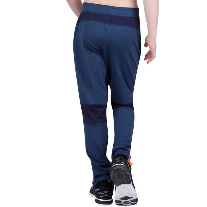 Pantalon 980 chaud slim Gym garçon poches imprimé marine - 1193898
