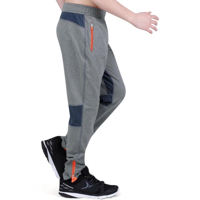 Pantalon 980 chaud slim Gym garçon poches imprimé marine - 1193929