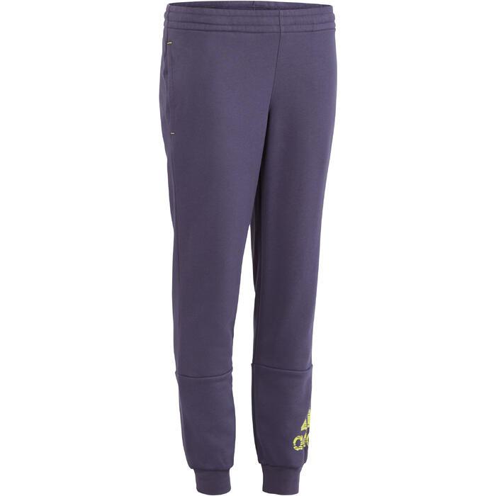 Pantalon molleton garçon bleu - 1193964