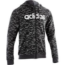 Gym hoodie voor heren grijs