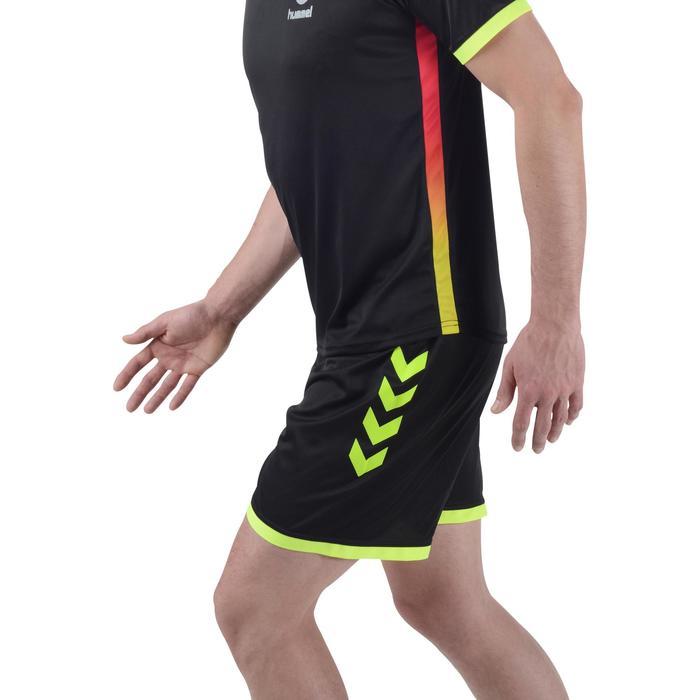 Short de handball Hummel Campaign homme noir et jaune 2017 - 1193987