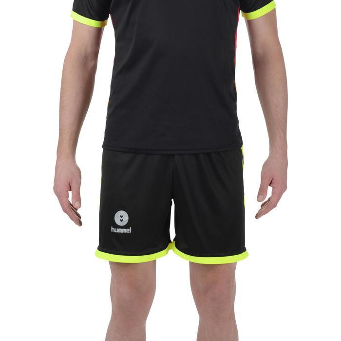Short de handball Hummel Campaign homme noir et jaune 2017 - 1193988
