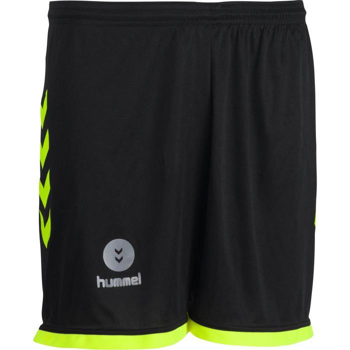Short de handball Hummel Campaign homme noir et jaune 2017 - 1193991