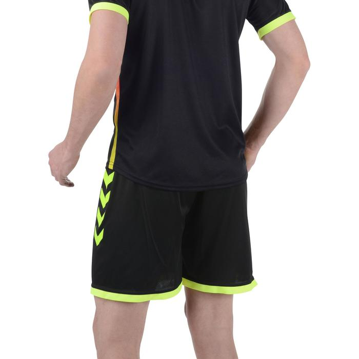 Short de handball Hummel Campaign homme noir et jaune 2017 - 1193992