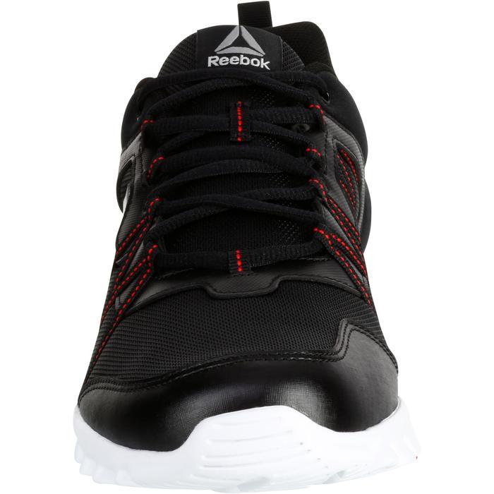 Chaussures marche sportive homme Yourflex noir / rouge - 1194006