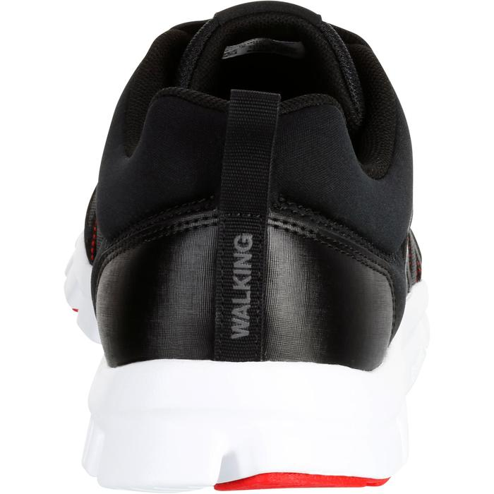 Chaussures marche sportive homme Yourflex noir / rouge - 1194016