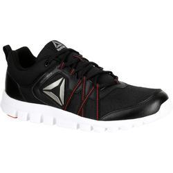 Herensneakers Yourflex zwart/rood