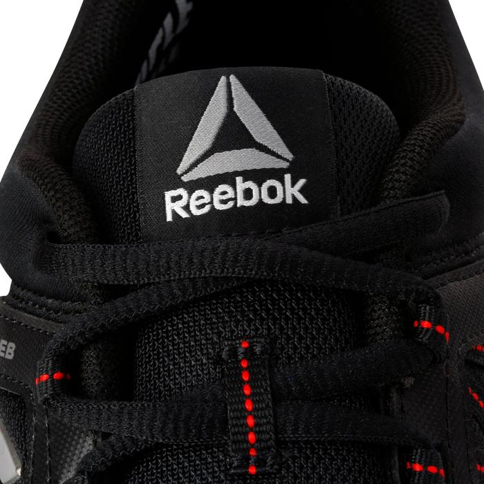 Chaussures marche sportive homme Yourflex noir / rouge - 1194030