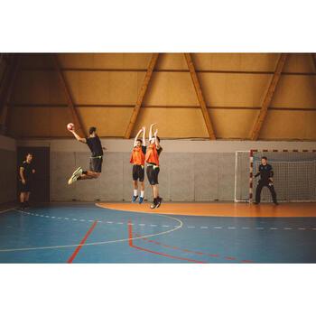 Ballon de handball hybride H500 Taille 2 rouge et - 1194035