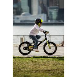 Kinderfiets 16 inch 4,5-6 jaar 500 DARK HERO jongens
