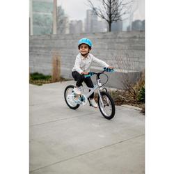 Kinderfahrrad 16 Zoll Inuit 100 weiß/blau