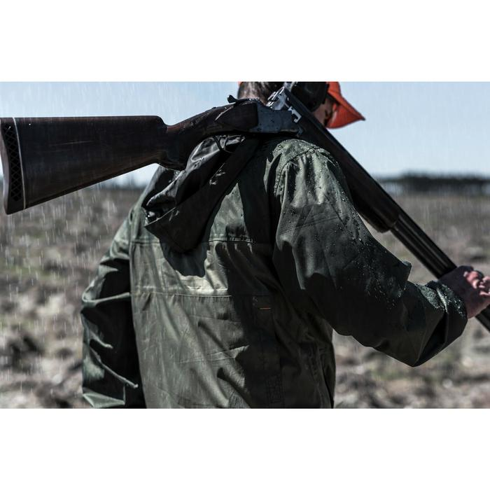 Veste chasse imperméable 100 kaki - 1194219